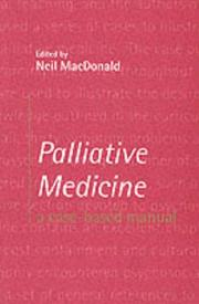 Cover of: Palliative Medicine | Neil MacDonald
