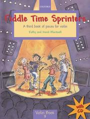 Cover of: Fiddle Time Sprinters | Kathy Blackwell
