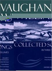 Cover of: Collected Songs | Vaughan Williams