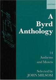 Cover of: A Byrd Anthology