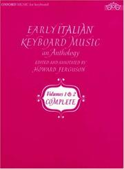 Cover of: Early Italian Keyboard Music: An Anthology