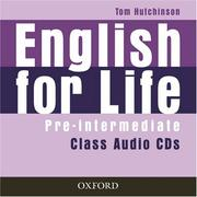 Cover of: English for Life Pre-intermediate