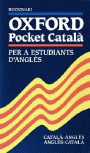 Cover of: Oxford English Pocket Dictionary for Catalan Speakers (Dictionary) |