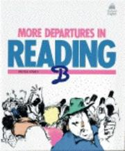 Cover of: More departures in reading