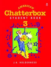 Cover of: American Chatterbox | J. A. Holderness