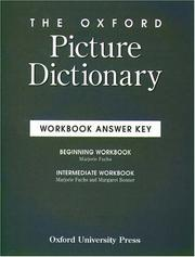 Cover of: Oxford Picture Dictionary Workbook Answer Key