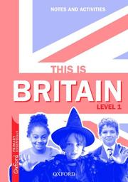 Cover of: This Is Britain, Level 1 by Coralyn Bradshaw