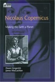Nicolaus Copernicus by Owen Gingerich, James MacLachlan