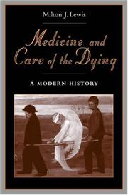Cover of: Medicine and Care of the Dying