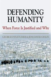 Cover of: Defending humanity |
