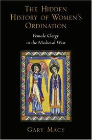 Cover of: The Hidden History of Women's Ordination