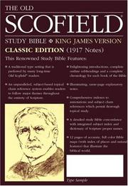 Cover of: The Old ScofieldRG Study Bible, KJV, Classic Edition |
