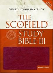 Cover of: The ScofieldRG Study Bible III, ESV |