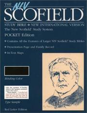 Cover of: The NIV Scofield Study Bible, Pocket Edition | Oxford University Press