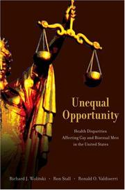 Cover of: Unequal Opportunity |