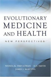 Cover of: Evolutionary medicine and health