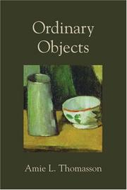 Cover of: Ordinary Objects | Amie L. Thomasson