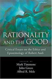 Cover of: Rationality and the Good |