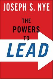 Cover of: The powers to lead