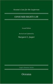 Cover of: Consumer Rights & the Law (Oceana's Legal Almanac Series  Law for the Layperson)
