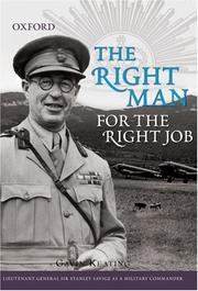 Cover of: The Right Man for the Right Job | Gavin Keating