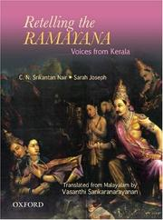 Cover of: Retelling the Ramayana
