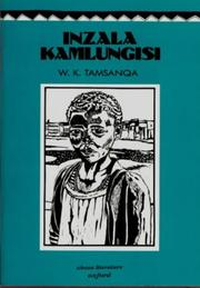 Cover of: Inzala KaMlungisi by W.K. Tamsanqa