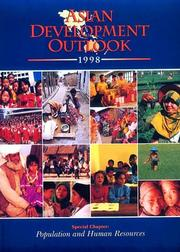 Cover of: Asian Development Outlook 1998