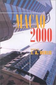 Cover of: Macao 2000