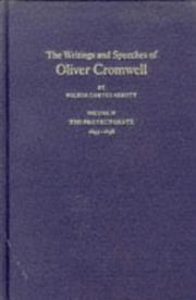 Cover of: The Writings and Speeches of Oliver Cromwell
