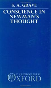Cover of: Conscience in Newman's Thought