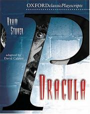 Cover of: Dracula (Oxford Playscripts)