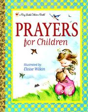 Cover of: Prayers for Children
