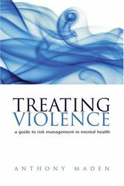 Cover of: Treating Violence | Anthony Maden