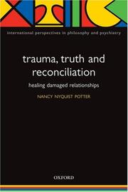 Cover of: Trauma, Truth and Reconciliation