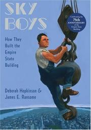 Cover of: Sky boys : how they built the Empire State Building