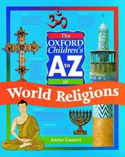 Cover of: The Oxford Children's A to Z of World Religions (Oxford Children's A to Z)