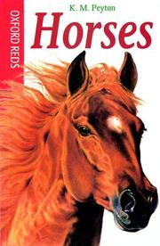 Cover of: Horses (Oxford Reds S.)