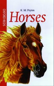 Cover of: Horses (Oxford Reds)