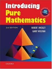Cover of: Introducing Pure Mathematics by Robert Smedley, Garry Wiseman