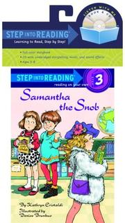 Cover of: Samantha the Snob (Book and CD) | Kathryn Cristaldi