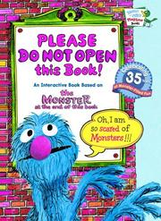Cover of: Please Do Not Open this Book! (Bright & Early Playtime Books)