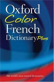 Cover of: Oxford Color French Dictionary Plus | Oxford University Press