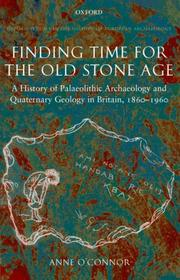 Cover of: Finding Time for the Old Stone Age | Anne O