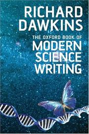 Cover of: The Oxford Book of Modern Science Writing