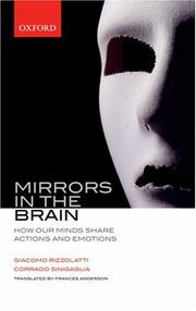 Cover of: Mirrors in the brain | Giacomo Rizzolatti