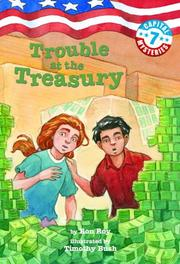 Cover of: Trouble at the Treasury (Capital Mysteries #7)