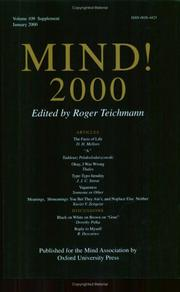 Cover of: Mind!