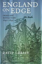 Cover of: England on Edge