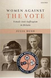 Cover of: Women against the vote